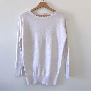 32fcf9b89d Ruby Moon Sweater Tunic Exposed Zipper Cream Small